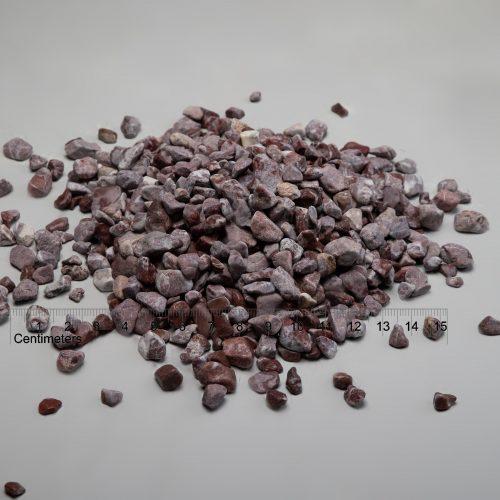Dekoratyviniai akmenukai fr. 10-20 mm, raudoni (sausa) www.ponasakmuo.lt