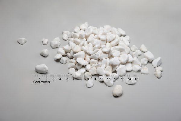 Dekoratyviniai akmenys fr. 20-40 mm, balti (šlapia) www.ponasakmuo.lt