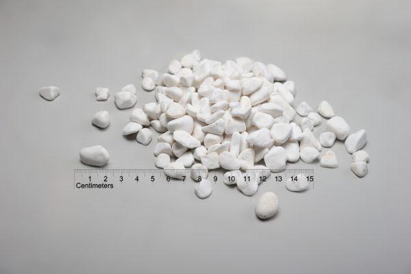 Dekoratyviniai akmenys fr. 20-40 mm, balti (sausa) www.ponasakmuo.lt