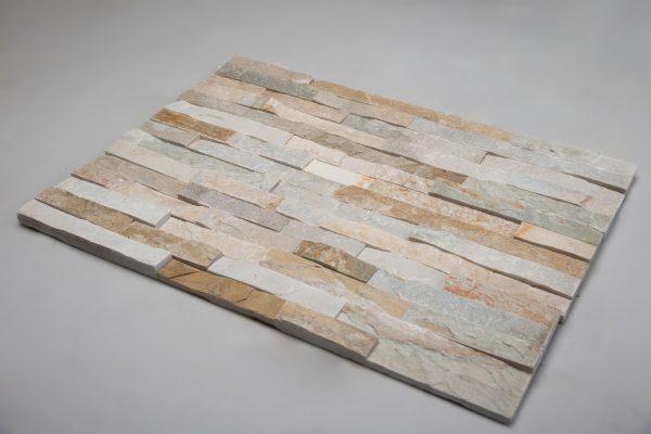 Fasadinės apdailinės plokštės 600x150x15-25mm