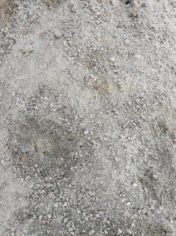 Granito skaldos ir atsijų mišinys fr. 0-5mm www.ponasakmuo.lt