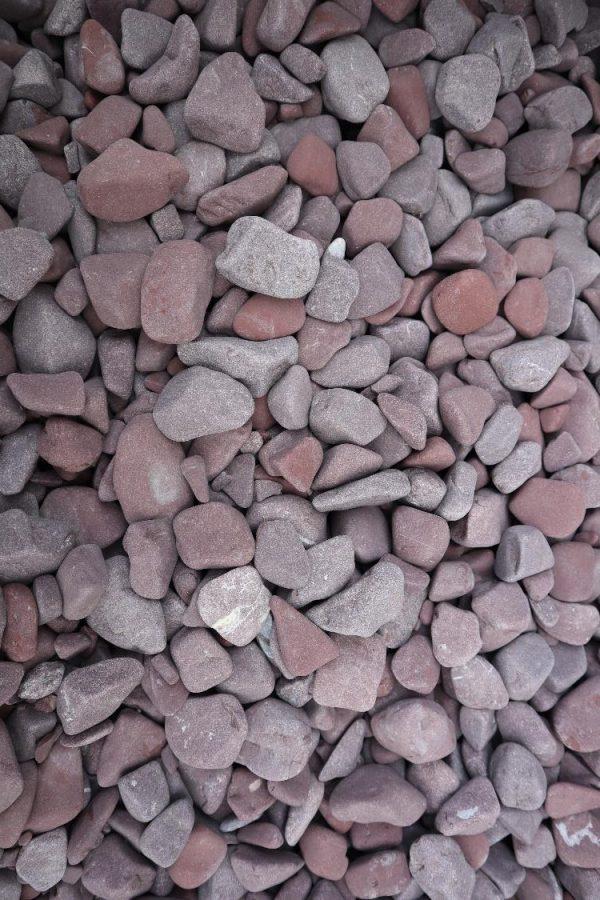 "Dekoratyviniai akmenukai ""BORDEAUX"" fr. 20-40 mm www.ponasakmuo.lt"