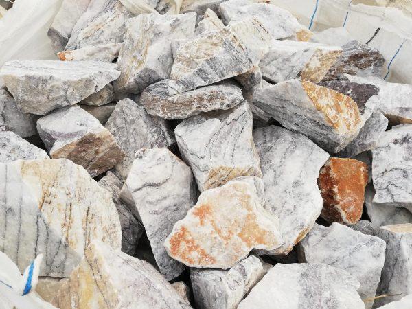 """Dekoratyviniai akmenys """"Leylak"""" fr. 10-20 cm www.ponasakmuo.lt"""