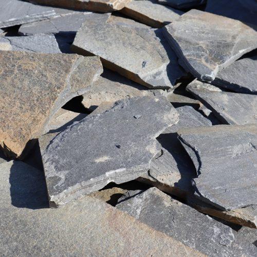 Grindinio plokštės BLUE, 2-3 cm storio, melsvos www.ponasakmuo.lt