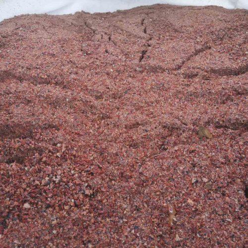 Granito skaldos ir atsijų mišinys fr. 0-5mm, rausvos www.ponasakmuo.lt